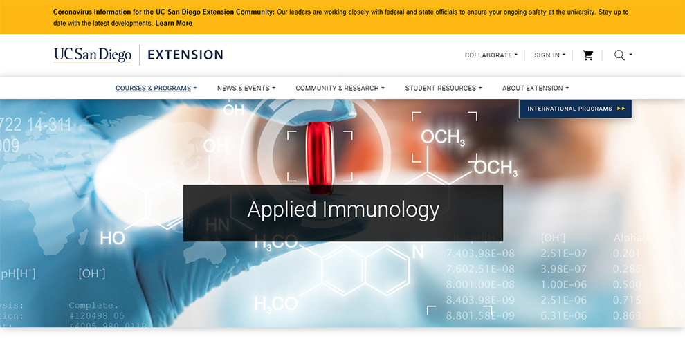 Applied Immunology By University of California