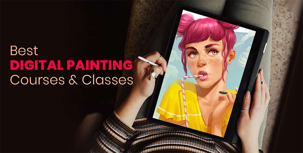 Learn To Draw and Paint With The Best Digital Painting Classes Online