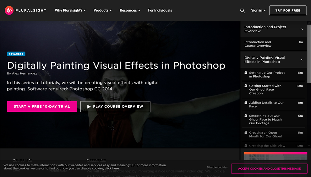 Digitally Painting Visual Effects in Photoshop