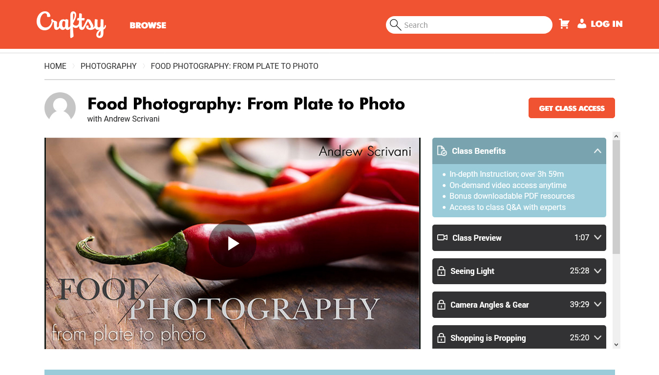 Food Photography: From Plate to Photo
