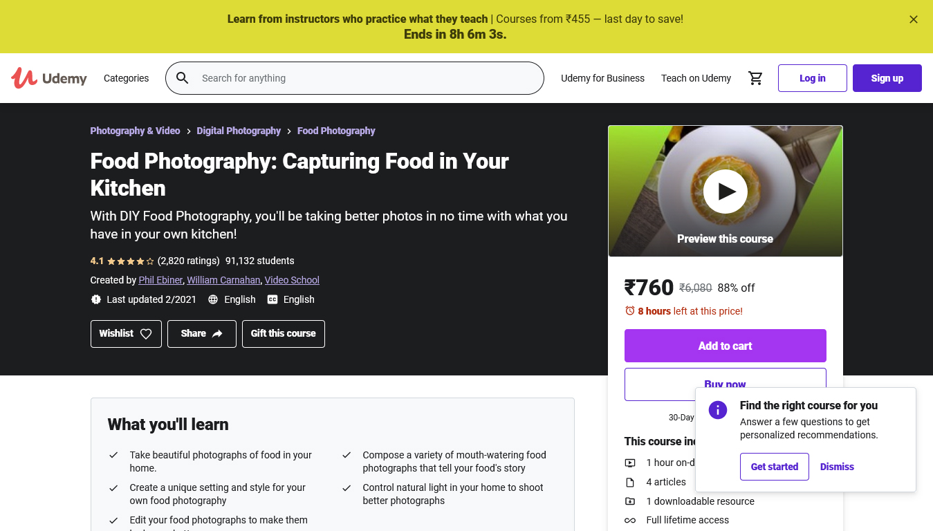 Food Photography: Capturing Food in Your Kitchen