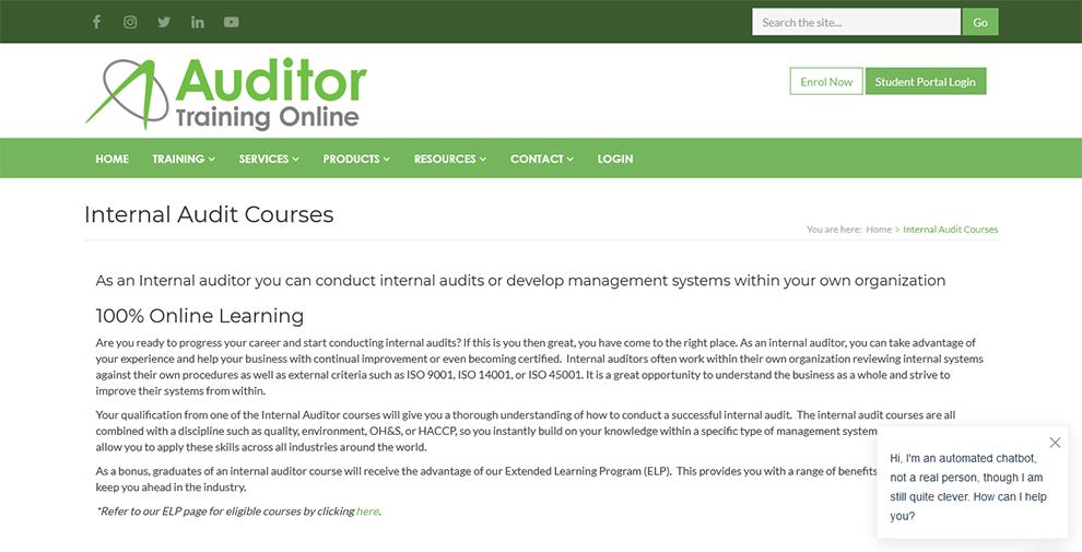 Internal Audit Courses