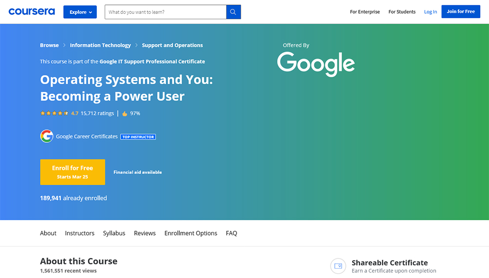Operating Systems and You
