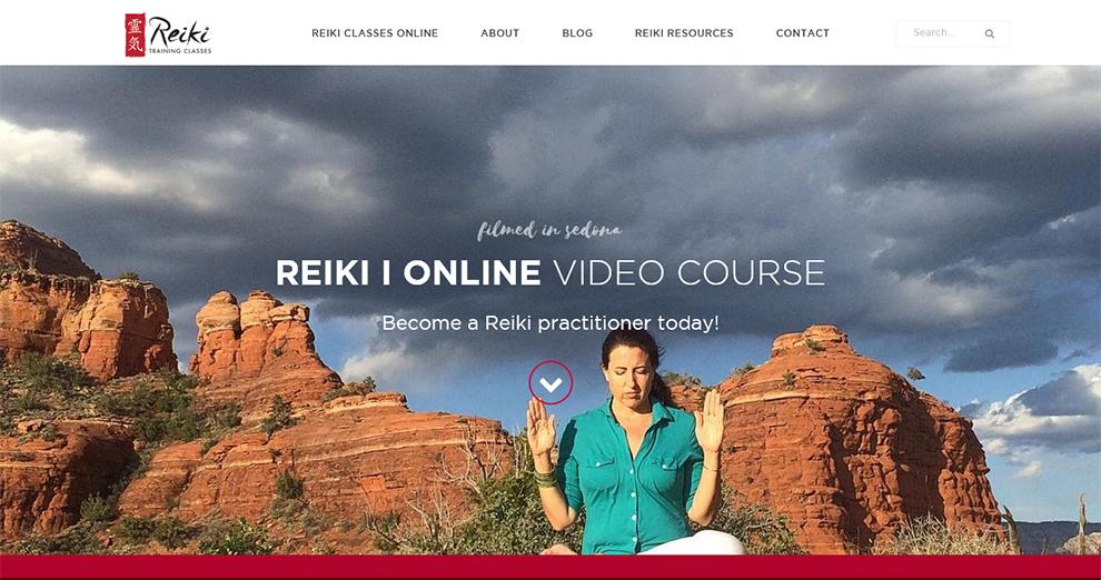 Reiki I Online Video Course