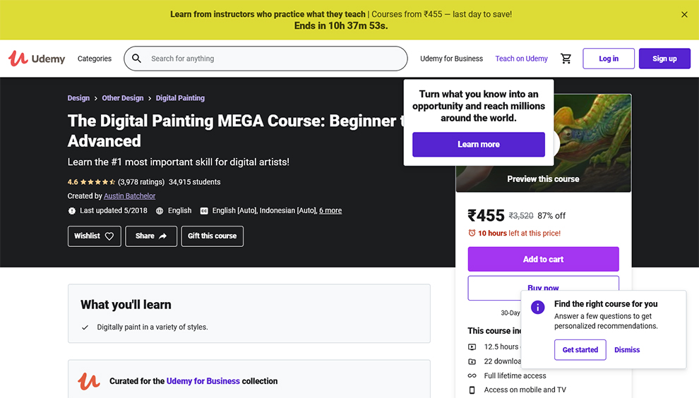 The Digital Painting MEGA Course