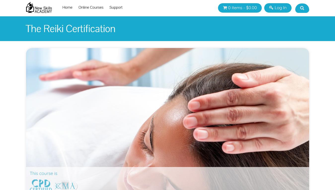 The Reiki Certification