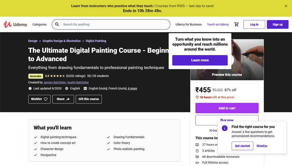 The Ultimate Digital Painting Course