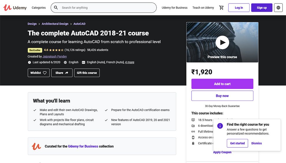 Top AutoCAD Online Courses and Classes