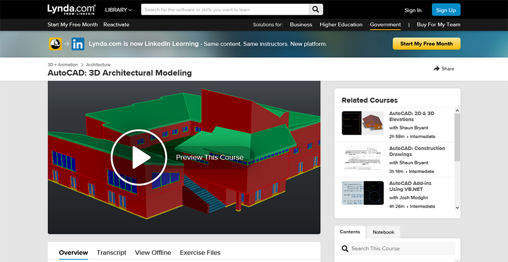 AutoCAD: 3D Architectural Modeling