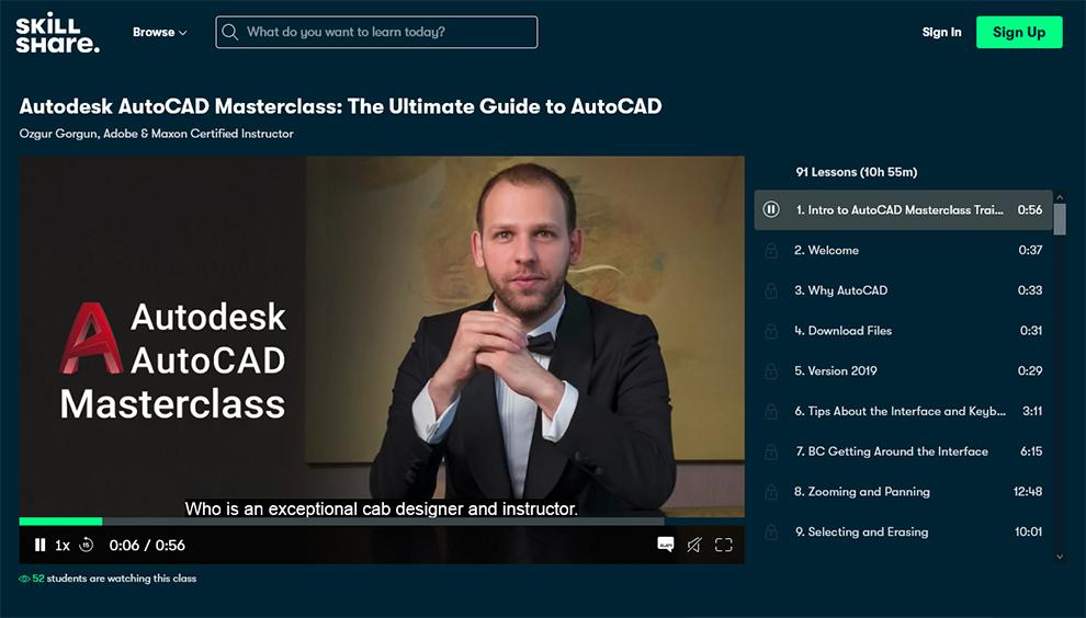 Autodesk AutoCAD Masterclass