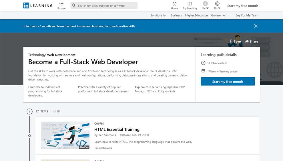 Become a Full-Stack Web Developer