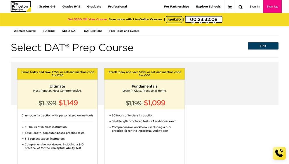 DAT® Prep Course
