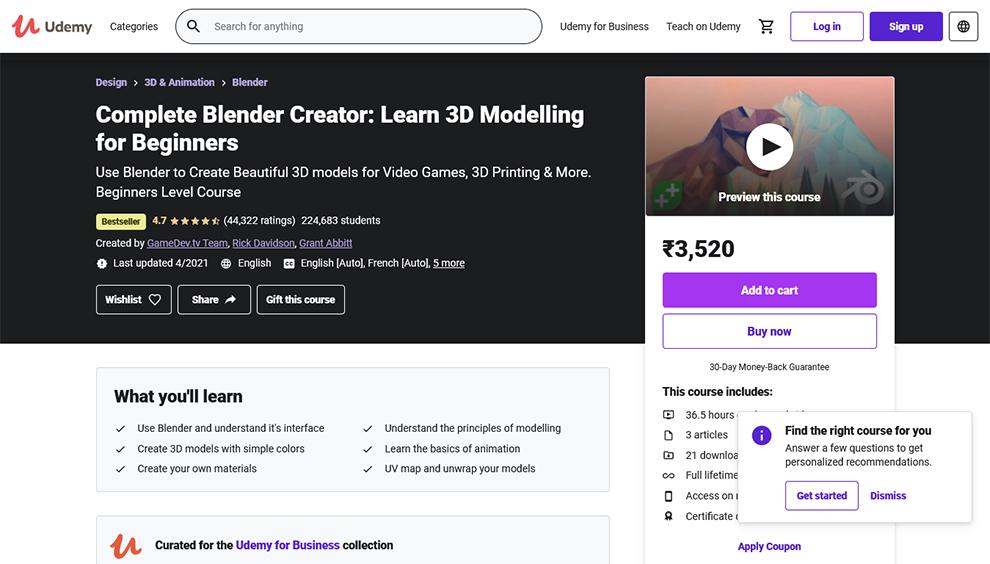 Complete Blender Creator