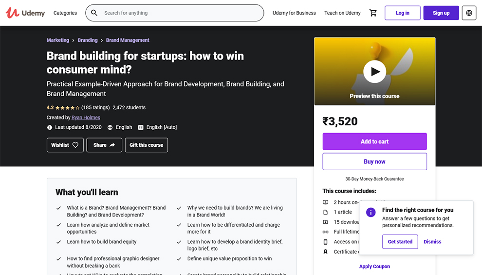 Brand Building For Startups