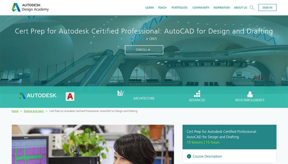 Cert Prep for Autodesk Certified Professional
