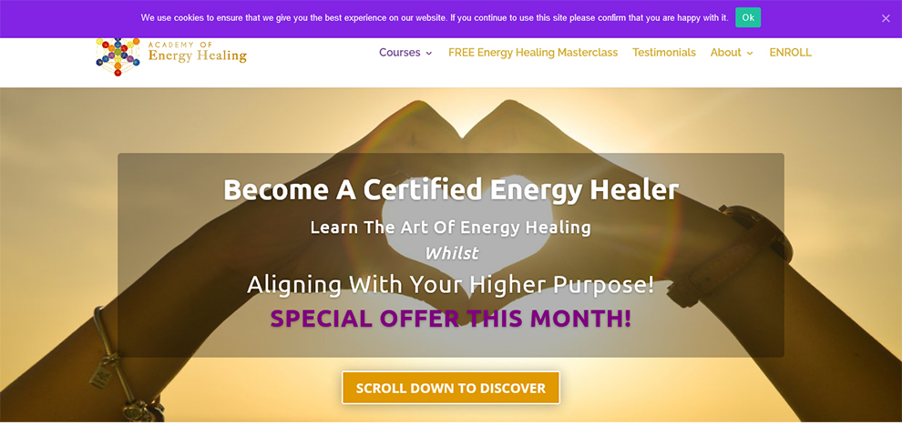 Energy Healing Masterclass