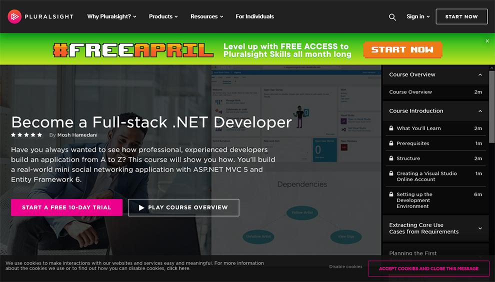 Become a Full-stack .NET Developer