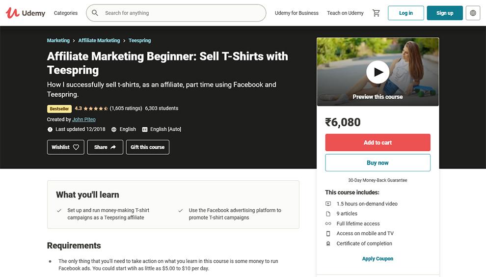 Affiliate Marketing Beginner