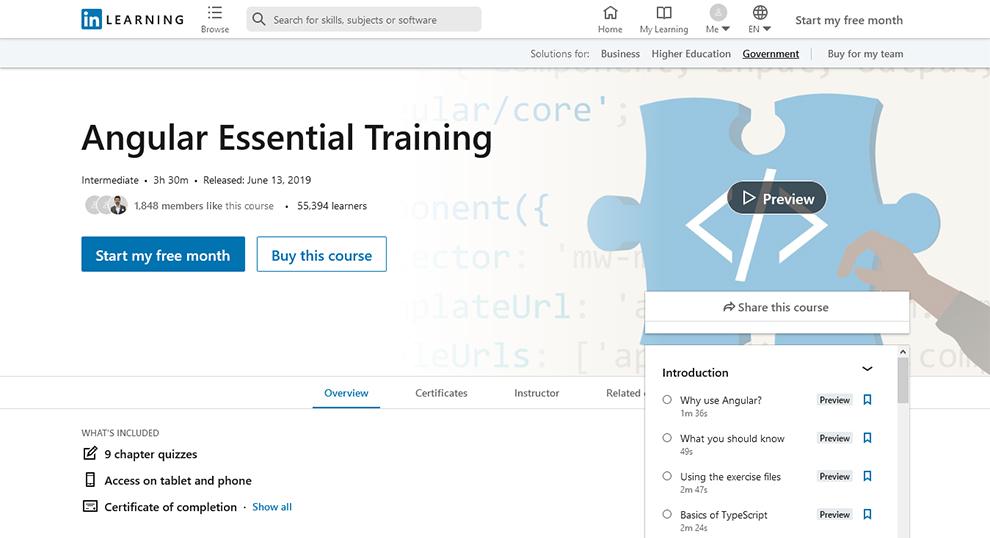 Angular Essential Training