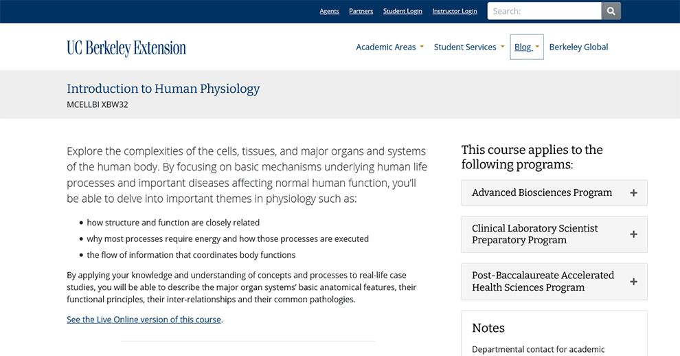 Introduction to Human Physiology