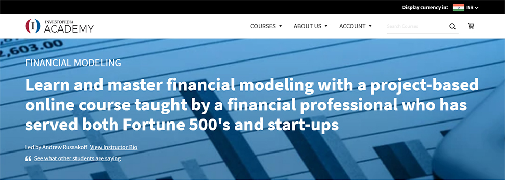 Become A Certified Financial Modeling