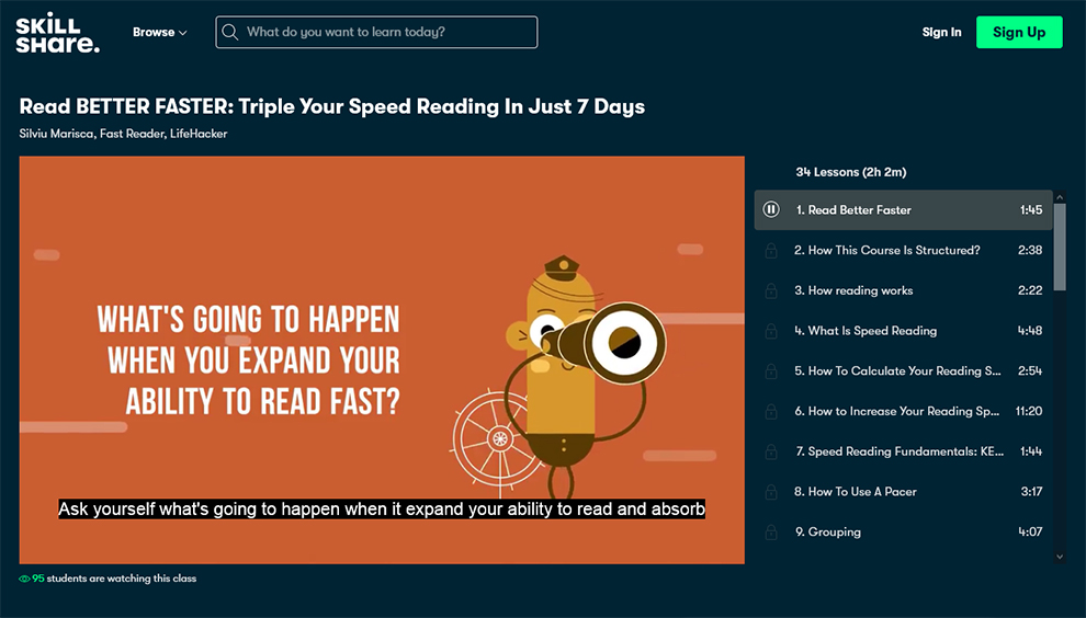 Read Better Faster: Triple Your Speed Reading In Just 7 Days