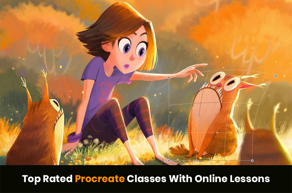 Procreate Lessons Online With Complete Training