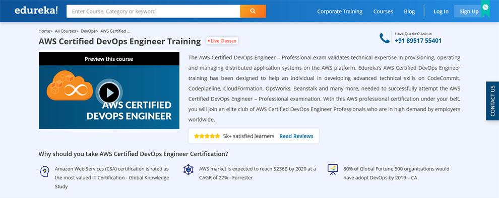 AWS Certified DevOps Engineer Training