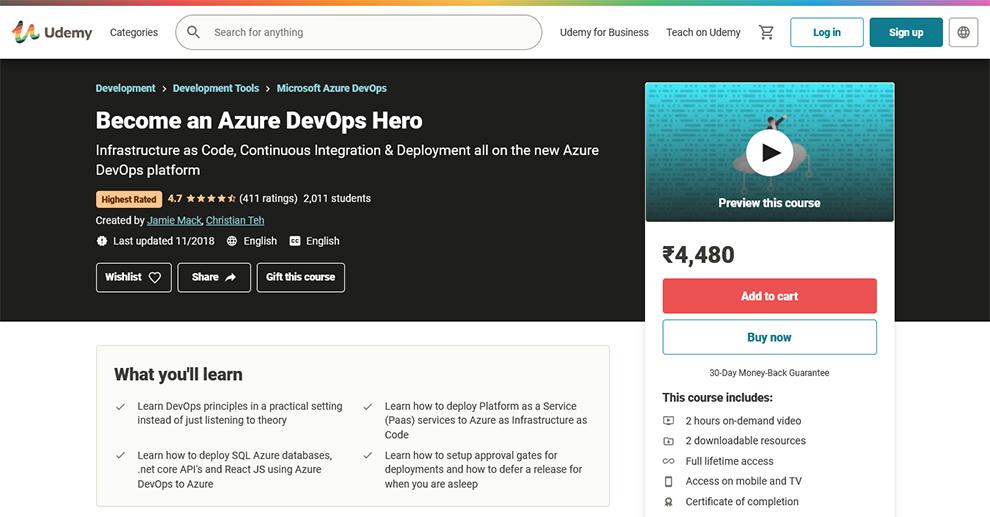 Become an Azure DevOps Hero