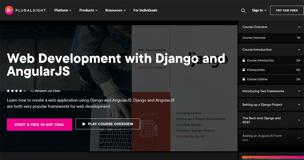 Web Development with Django and AngularJS
