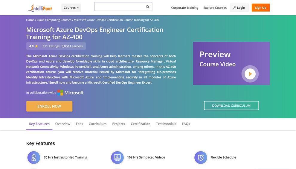 Microsoft Azure DevOps Certification Course Training for AZ-400