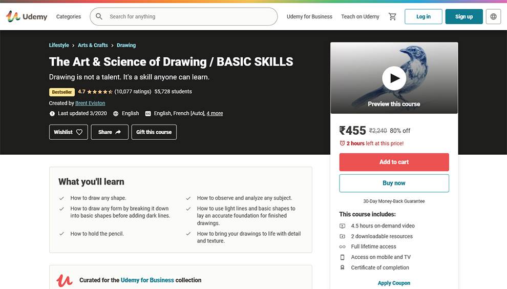 The Art & Science of Drawing