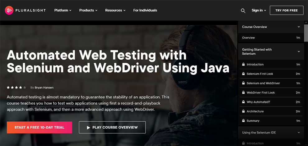 Automated Web Testing with Selenium and WebDriver Using Java