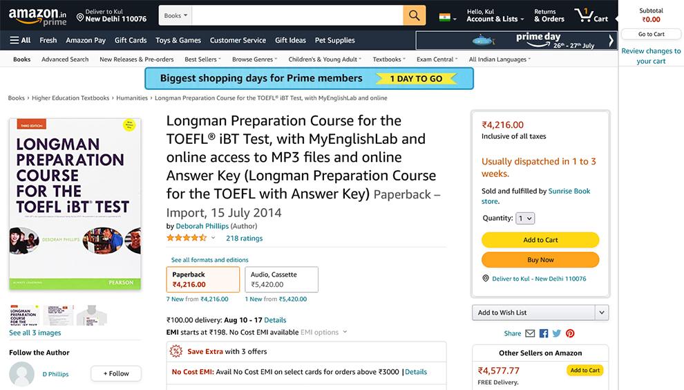 Longman Preparation Course for the TOEFL iBT®