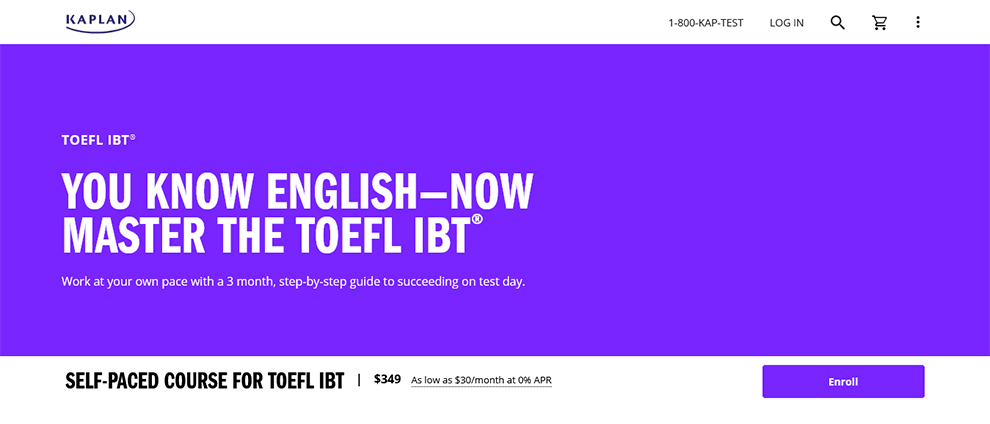 You know English—Now master the TOEFL iBT®