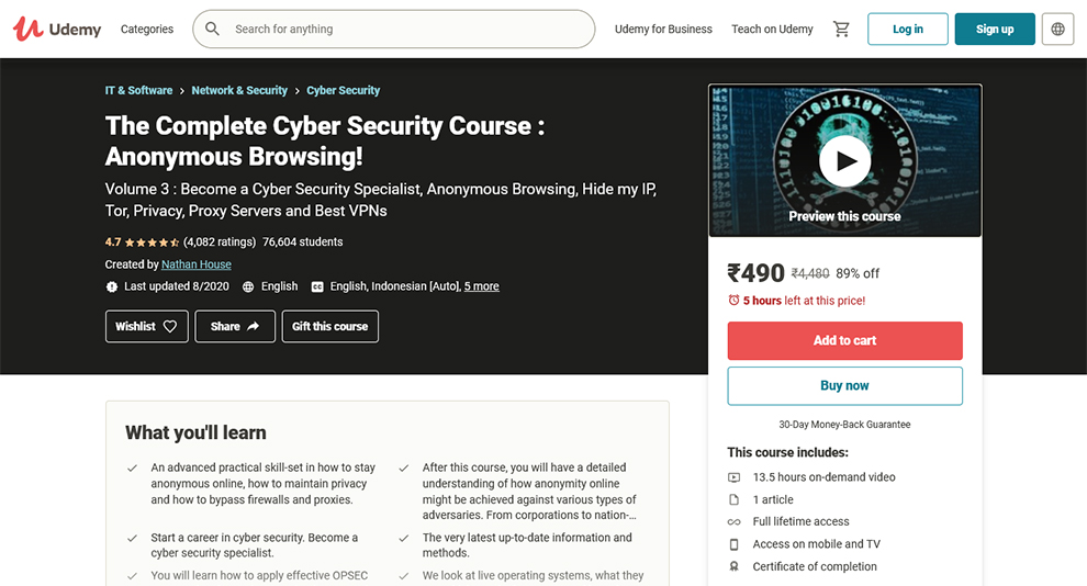 The Complete Cyber Security Course