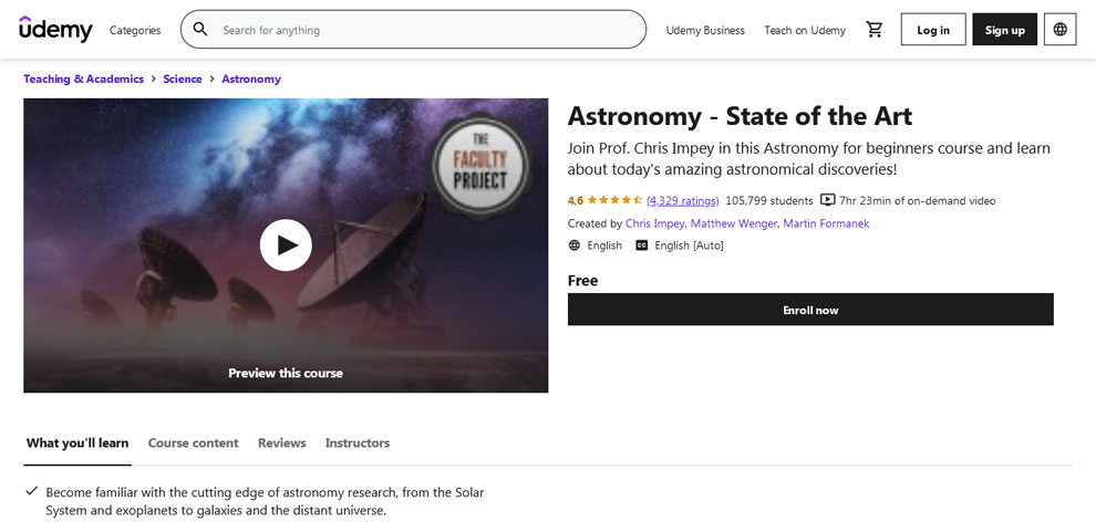 astronomy-state-of-the-art