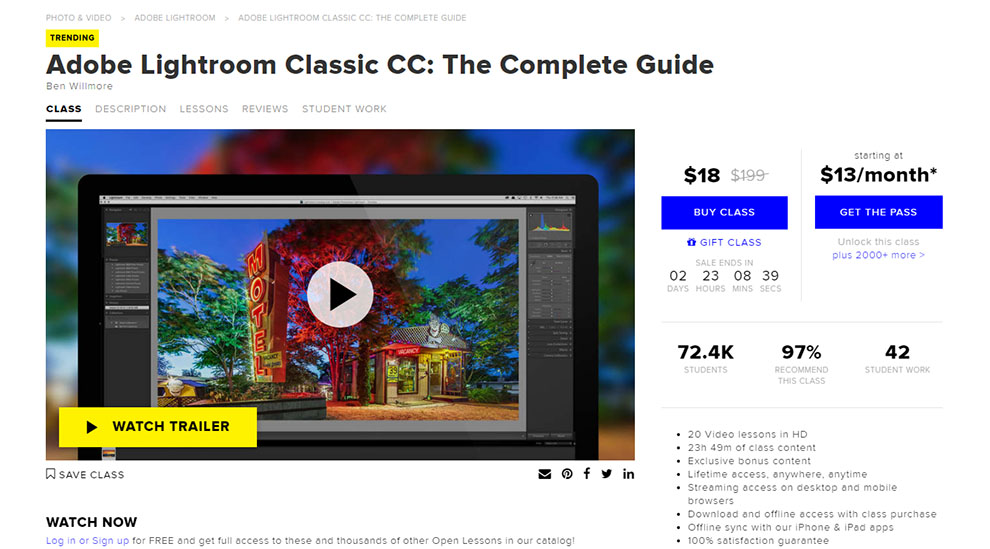 Adobe Lightroom Classic CC: The Complete Guide