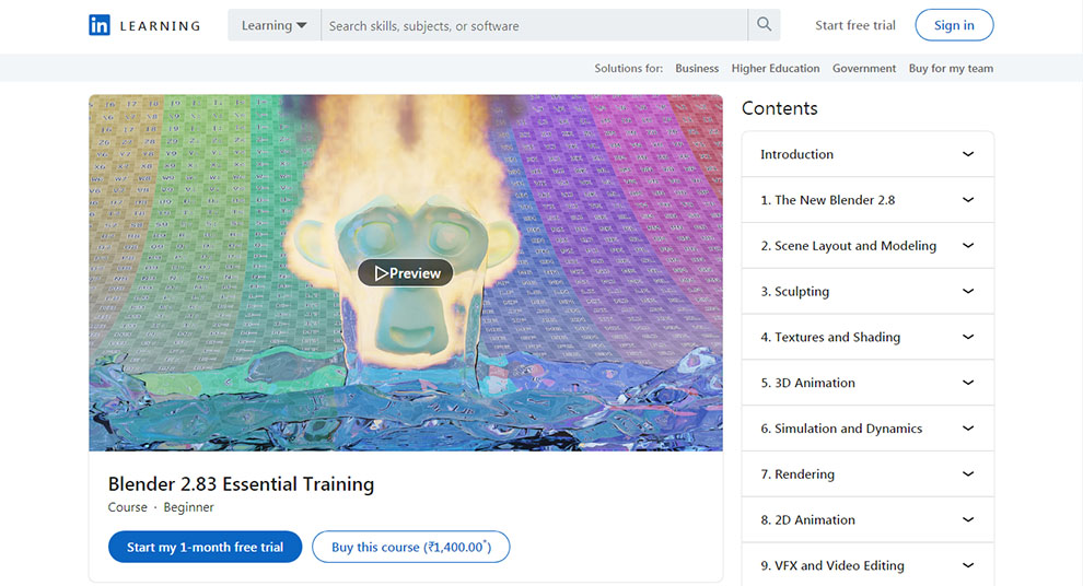 Blender 2.83 Essential Training