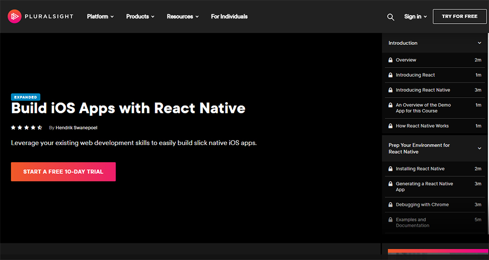 Build iOS Apps with React Native