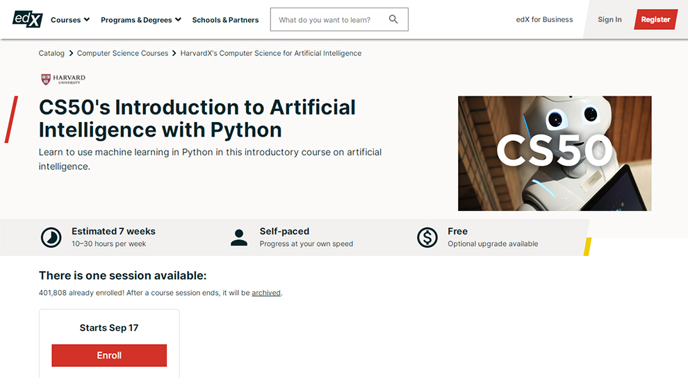 CS50's Introduction to Artificial Intelligence with Python