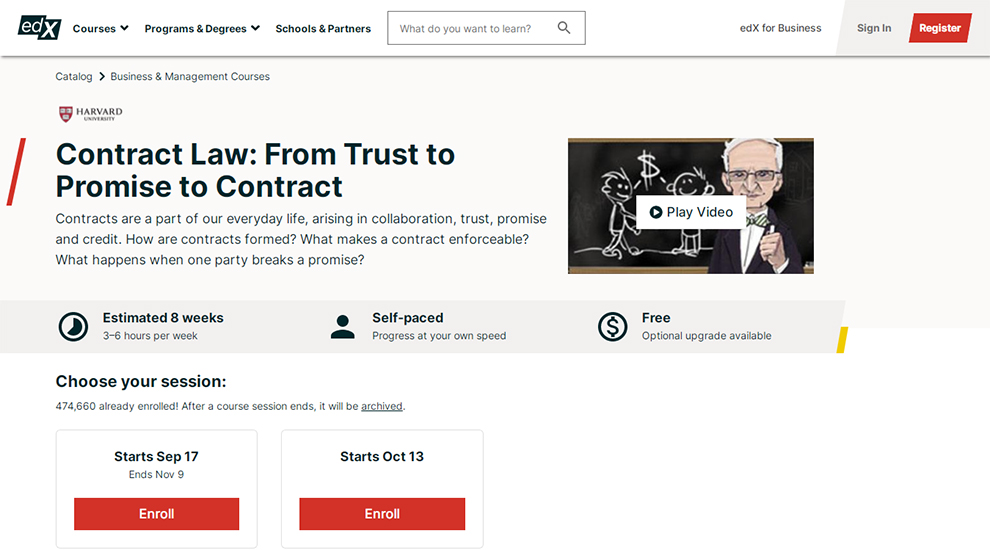 Contract Law: From Trust to Promise to Contract