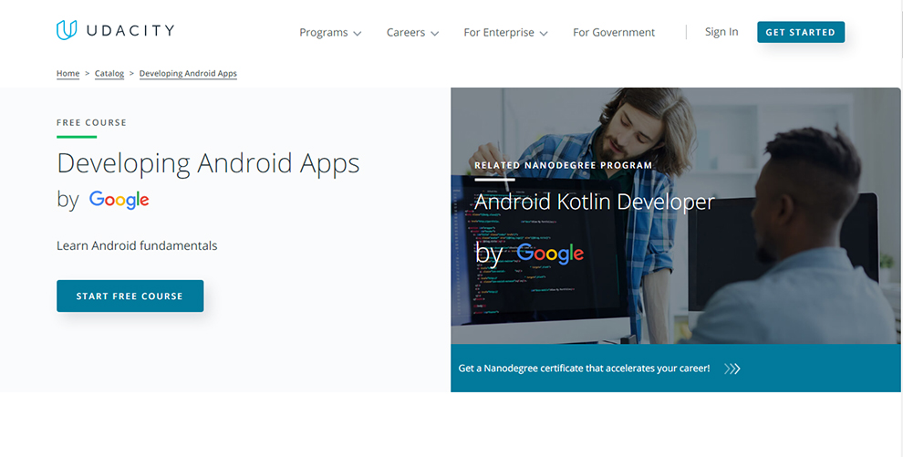 Developing Android Apps by Google