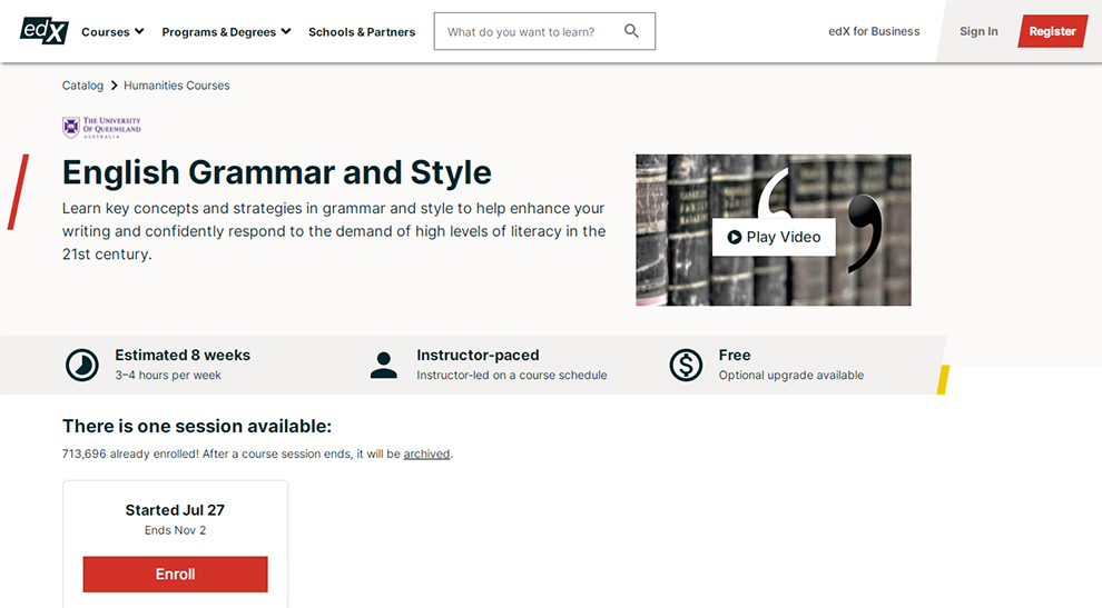 English Grammar and Style