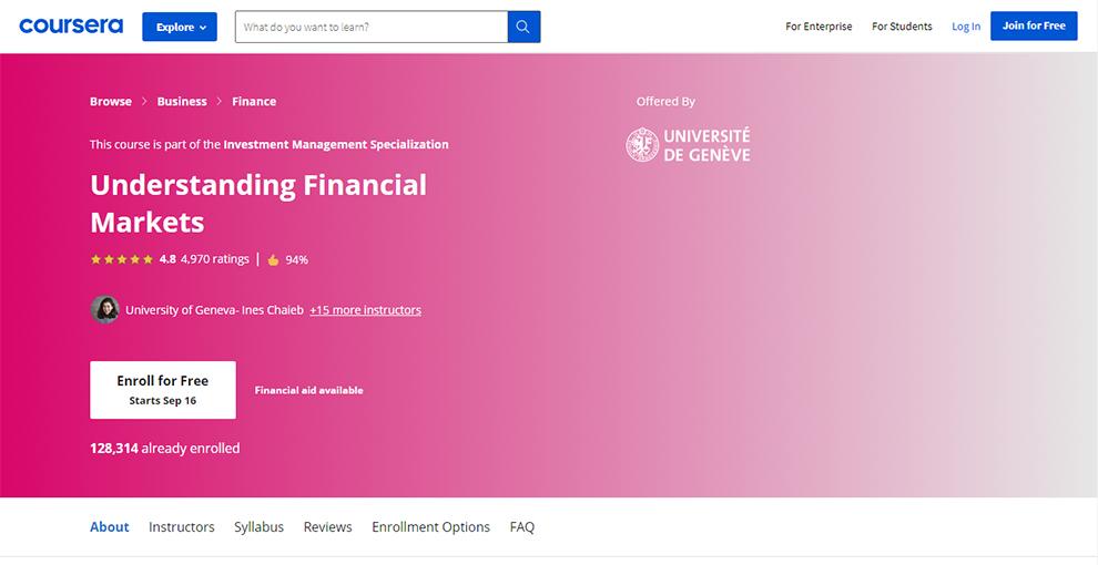 Financial Management Specialization