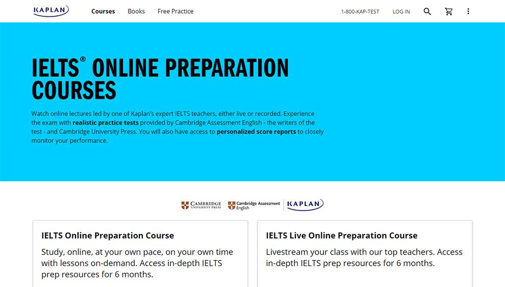 IELTS® Online Preparation Courses – By Cambridge University