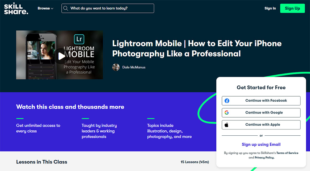 Lightroom Mobile: How to edit your iphone photography like a professional