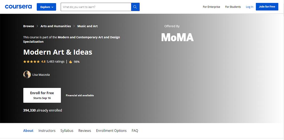 Modern Art & Ideas