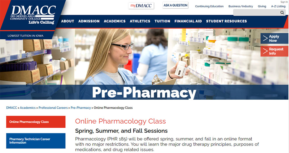 Online Pharmacology Class