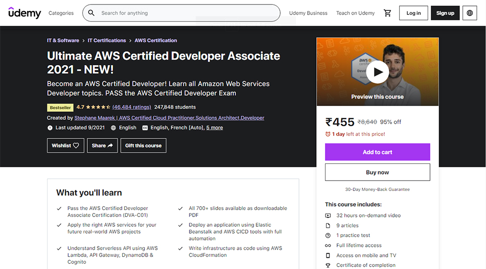 Ultimate AWS Certified Developer Associate 2021